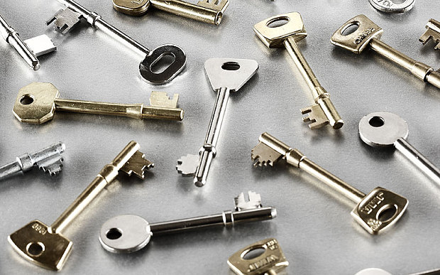 Multiple types of keys
