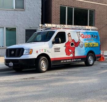 Quick Key Service Van