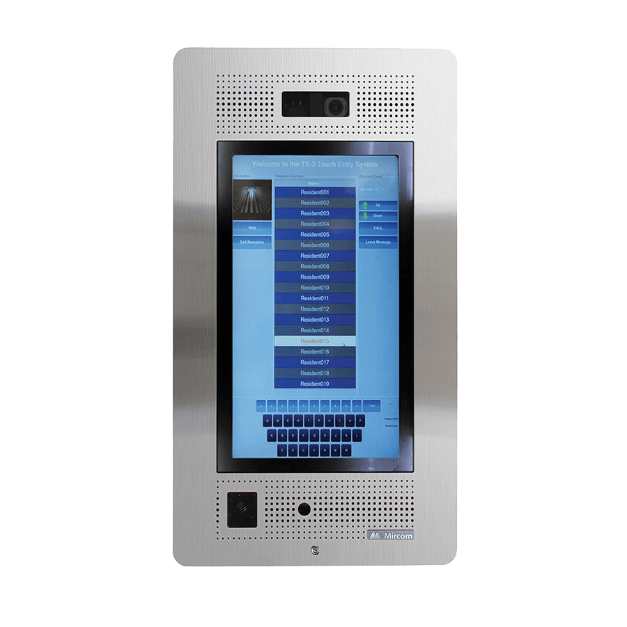 Touch Screen Voice Entry Systems