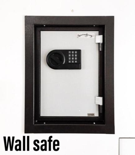 AMSEC Wall Safe