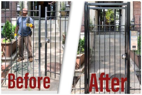 Telephone Entry System Gate Upgrade