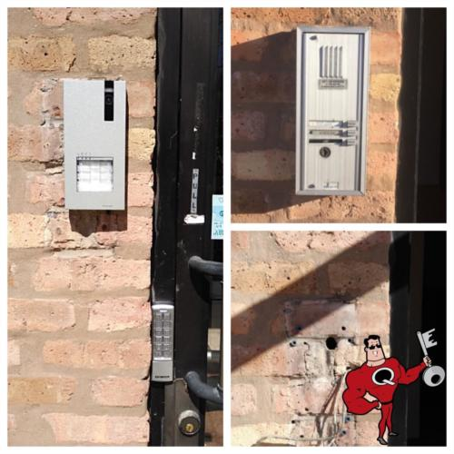 Comelit Video Intercom Integrated With Stand Alone Access Control