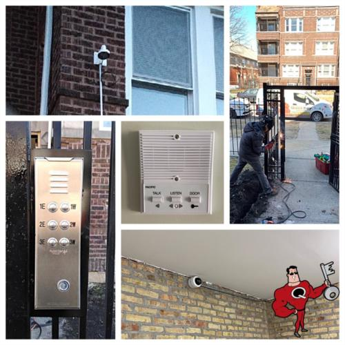 Intercom, Security Cameras, Gate Upgrade