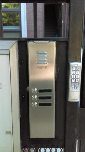 Stainless Steel Intercom Integrated With Stand Alone Access Control