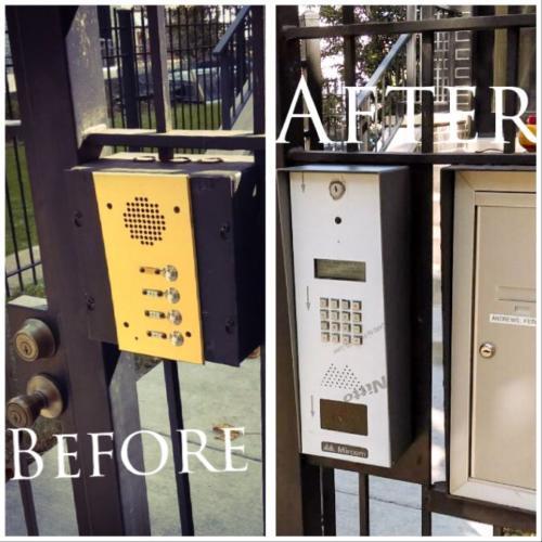Mircom Telephone Entry System