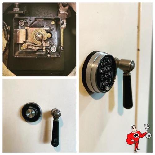 Safe Lock Installation