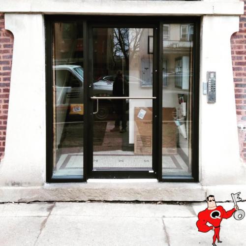 Aluminum Glass Door & Frame Installation