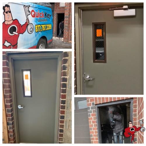 Metal Door & Frame Installation